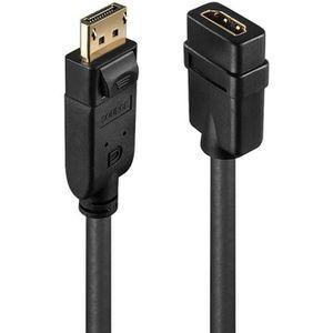ADAPTATEUR AUDIO-VIDÉO  LINDY Convertisseur Passif DisplayPort vers HDMI