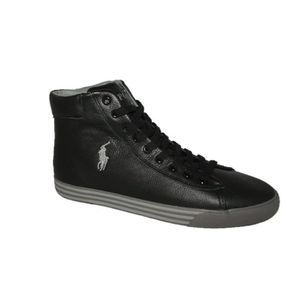 BASKET Ralph Lauren Harvey Mid noir