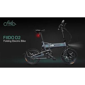 VÉLO ASSISTANCE ÉLEC  Vélo Electrique FIIDO E-Scooter 250 W 25 km/h D2