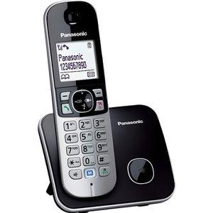 Téléphone fixe Panasonic KX-TG6811 Solo Téléphone Sans Fil Sans R
