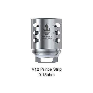 CIGARETTE ÉLECTRONIQUE Resistances TFV12 Prince - Smoktech - Strip 0.15oh