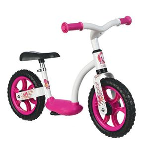 DRAISIENNE SMOBY Draisienne Confort Roues Silencieuses Rose