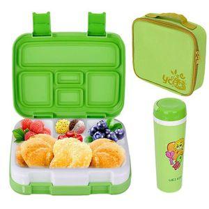 LUNCH BOX - BENTO  Set Lunch Box Enfants 800ml Boite Bento avec 5 Com