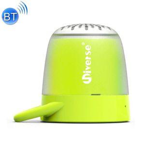 ENCEINTE NOMADE Mini enceinte Bluetooth vert Universe Portable Hau