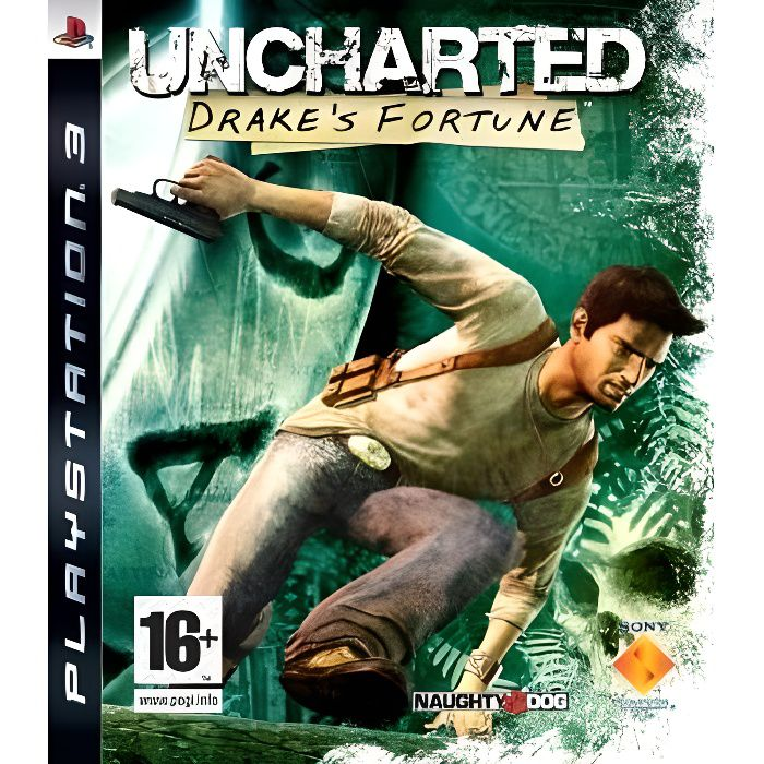 JEU PS3 UNCHARTED DRAKE'S FORTUNE / JEU CONSOLE PS3