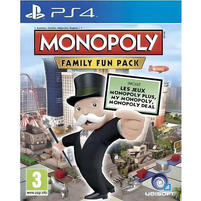 Monopoly Deluxe Jeu PS4