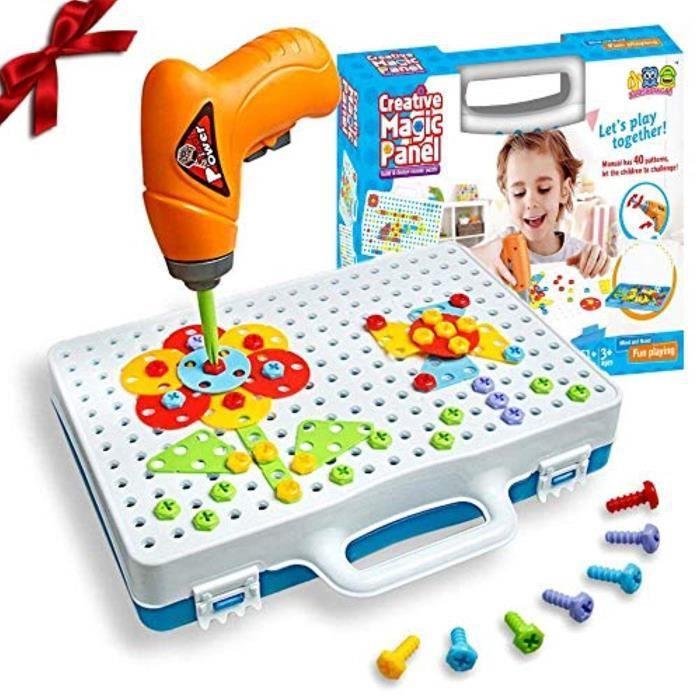 Jeu D'Assemblage NQ160 SHAWE 3D Démontez Toy Creative Construction Puzzles Jouet Kit d'assemblage bricolage Ensemble de jeu Toy avec