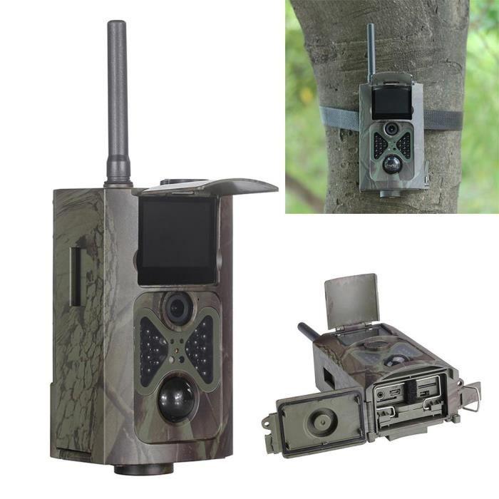 Caméra de chasse Suntek HC-500M HD caméra 12MP GPRS GSM caméra de chasse SMS