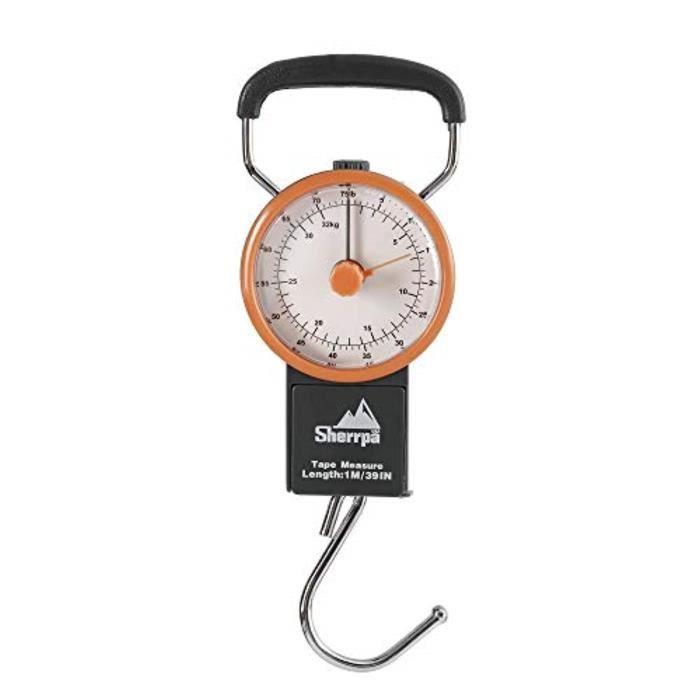 Bracelet De Montre Vendu Seul NFJ7G Échelle manuelle bagages Voyage, Pondération Valise Échelle 75 lb - 32 kg (