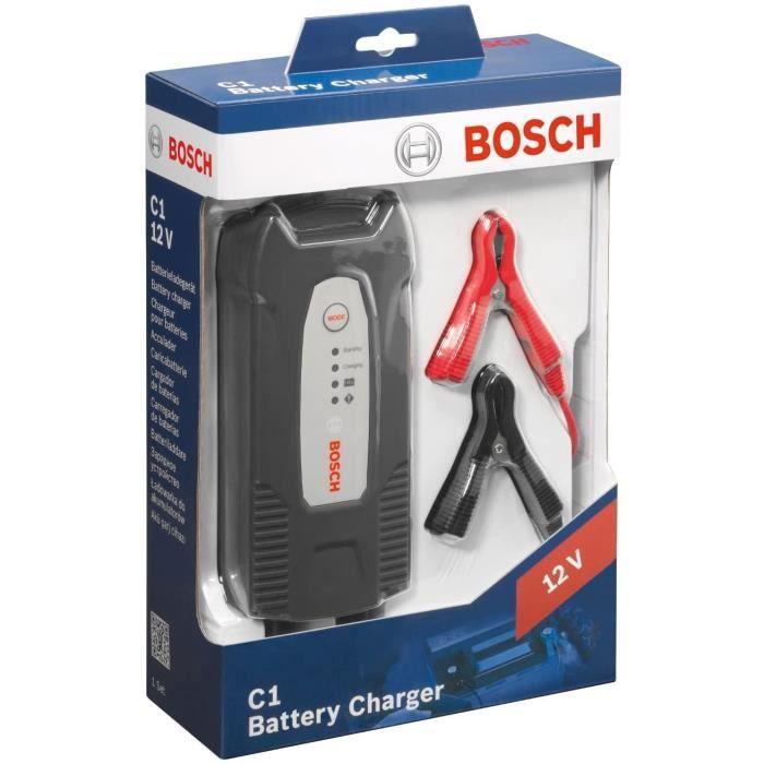 Bosch C1 Chargeur de Batterie Automatique 12 V /3.5 A