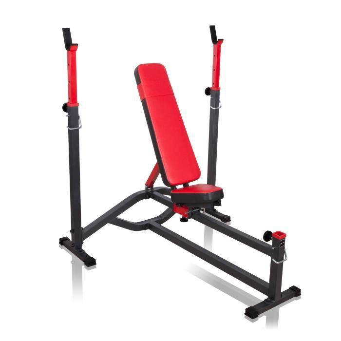 Banc de musculation réglable avec chandelles MS-L105 Marbo-Sport