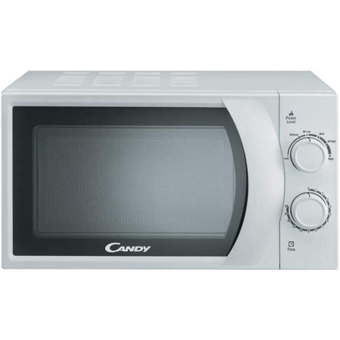 Candy CMW 2070 M Micro-ondes blanc 20 l, 700 W, 6 niveaux de puissance.