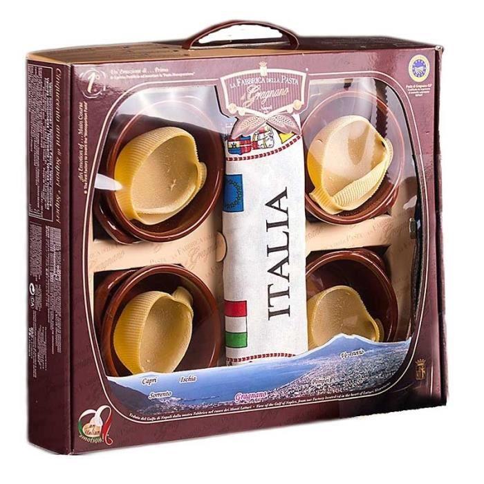 Pâtes Caccavella Gragnano avec terrines