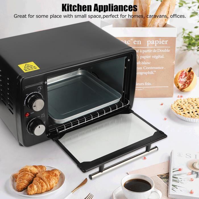 TAO Petit Four Électrique de Bureau Multifonction 10L Machine de Cuisson Ménage Appareil de Cuisine(UK 220V )