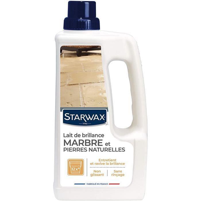 STARWAX Lait de Brillance pour Marbres et Pierres Naturelles - 1L - Idéal pour Nettoyer et Raviver la Brillance du Marbre et des,15