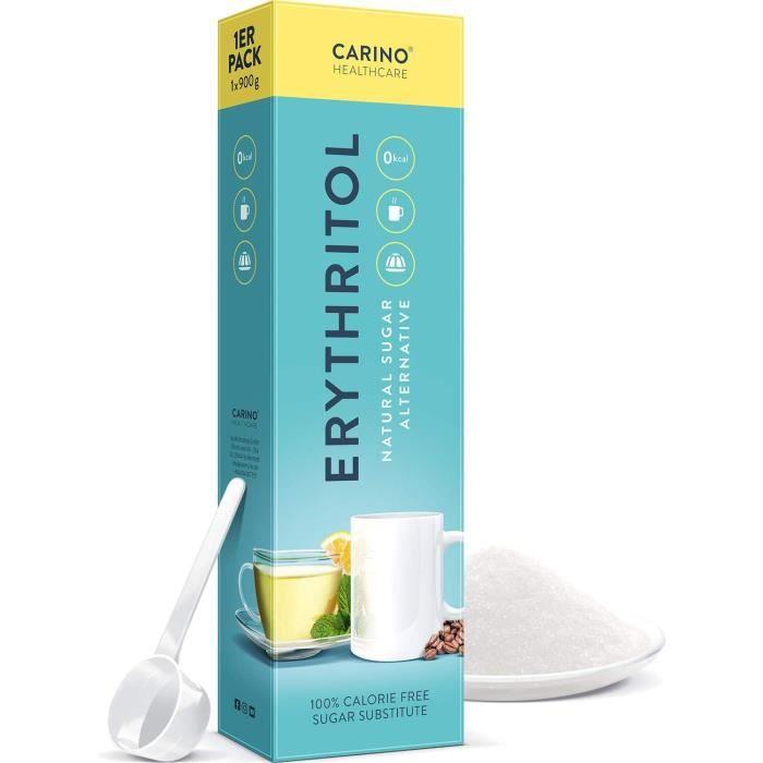 Erythritol poudre 900g alternative au sucre - 70% de légumes de sucre226
