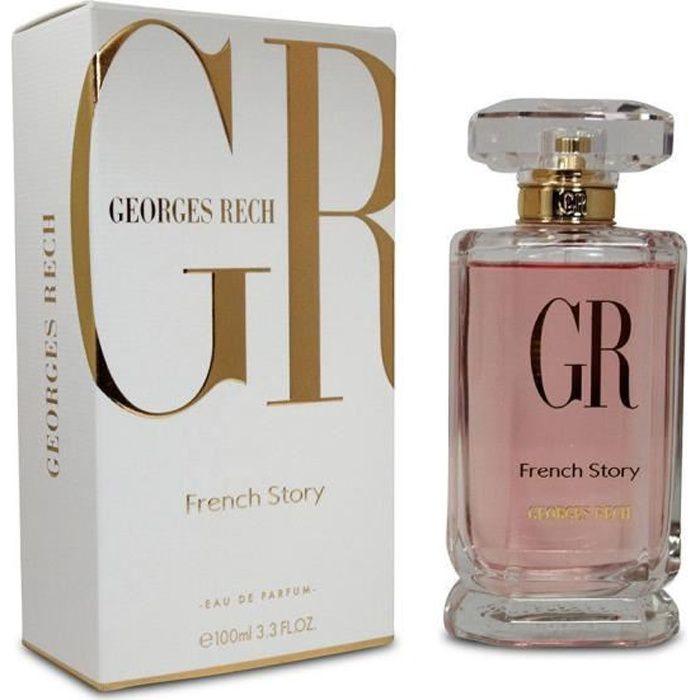 Georges Rech French Story - Parfum Femme - 100 ML EDP Eau de parfum Vapo Spray