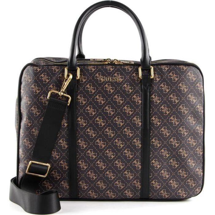 GUESS Vezzola Workbag Brown Ochre [132808]