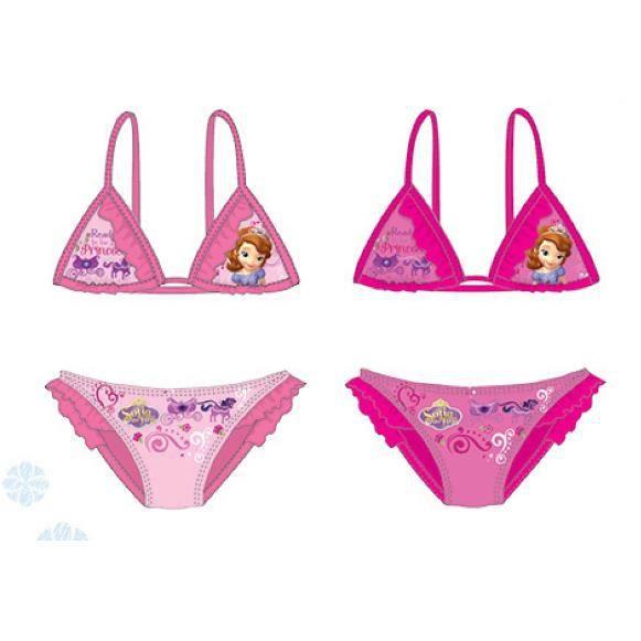 Princesse Sofia maillot de bain rose