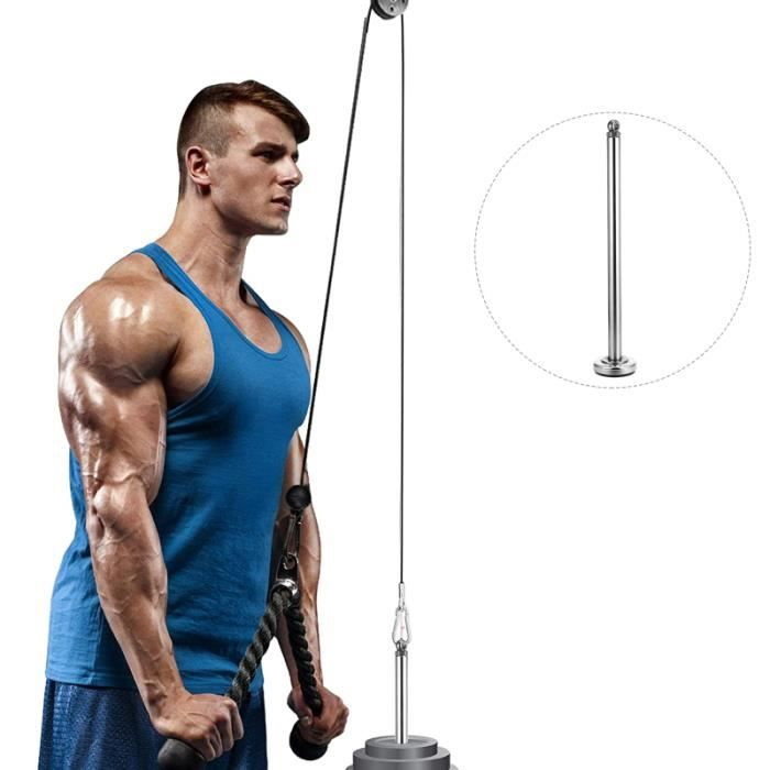 1pc Weight Loading Dumbbell Bars Weight-bearing Pin Lifting Bar barre - haltere - poids fitness - musculation