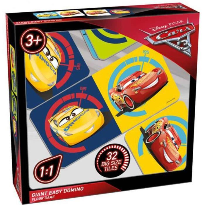 Jeux tactiques Cars 3 Giant Easy Domino