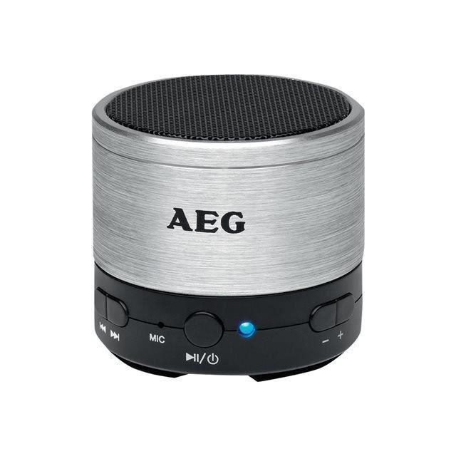 ENCEINTE NOMADE AEG BSS 4826RD Enceinte Bluetooth - Aux-In - 400ma