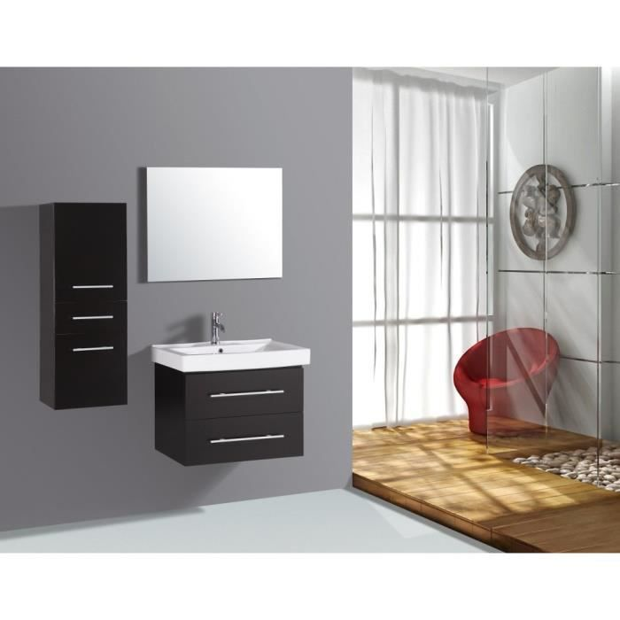 anais wenge ensemble salle de bain 2 meubles 1 vasque. Black Bedroom Furniture Sets. Home Design Ideas