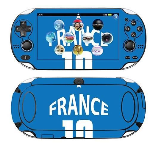 skin stickers pour sony ps vita sticker france champion. Black Bedroom Furniture Sets. Home Design Ideas