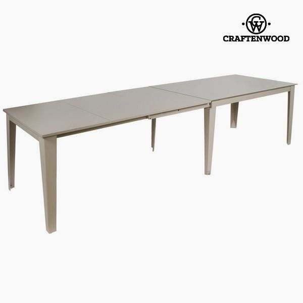 table extensible grise by craftenwood achat vente table a manger seule table extensible. Black Bedroom Furniture Sets. Home Design Ideas