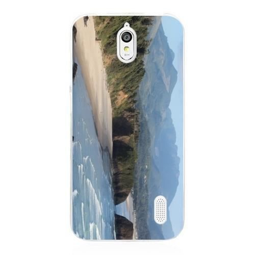 Coque Silicone Transparente pour Huawei Y625 - Scène D'océan En ...