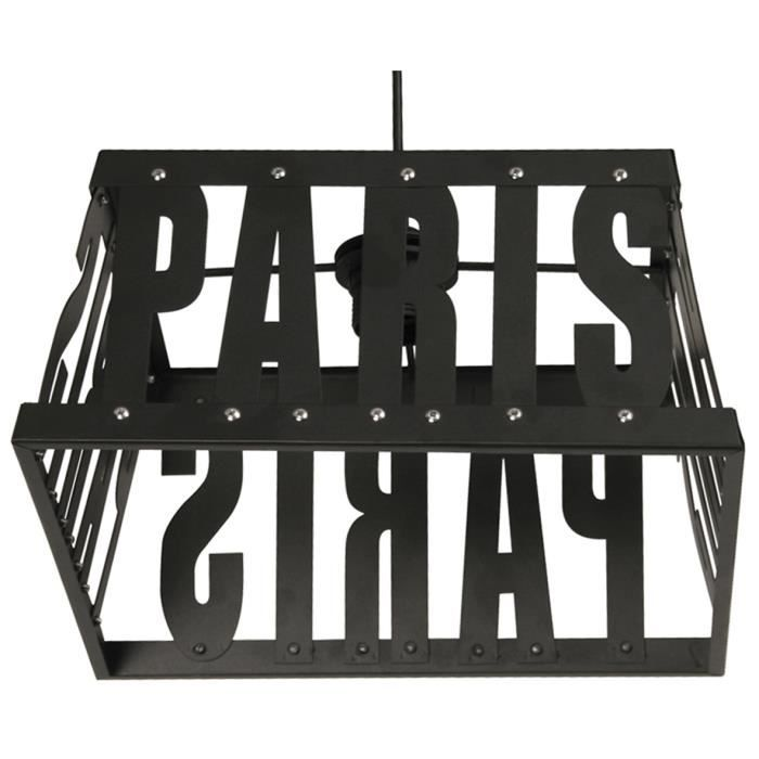 suspension luminaire paris m tal metropolight achat. Black Bedroom Furniture Sets. Home Design Ideas