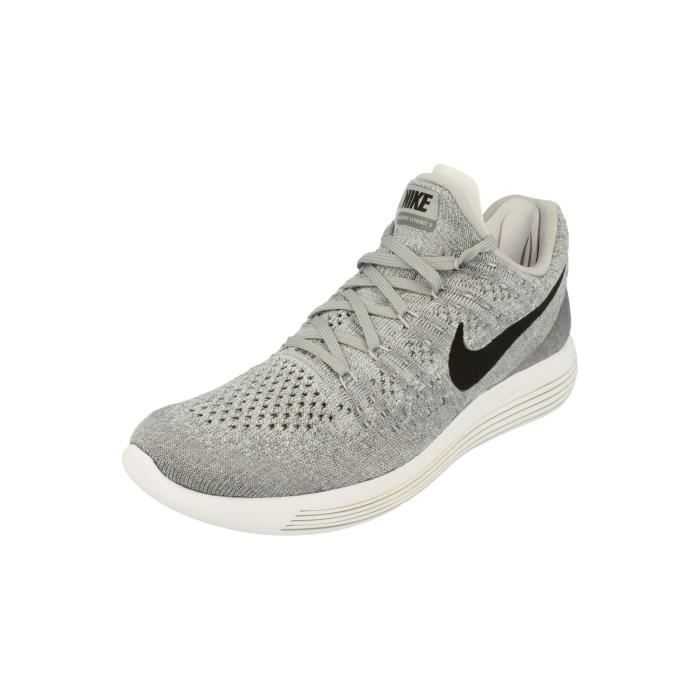 new concept 328d8 30a75 Nike Lunarepic Low Flyknit 2 Hommes Running Trainers 863779 Sneakers  Chaussures 002 (EU 45.5)