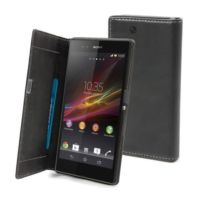 Housse sony xperia z ultra noir achat vente housse for Housse xperia xz