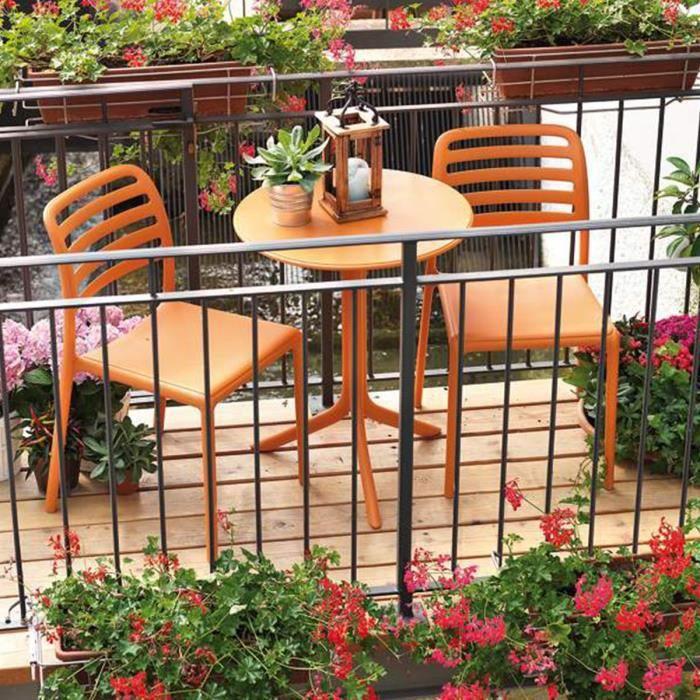 Petit Salon De Jardin Terrasse Design Costa Spritz Nardi