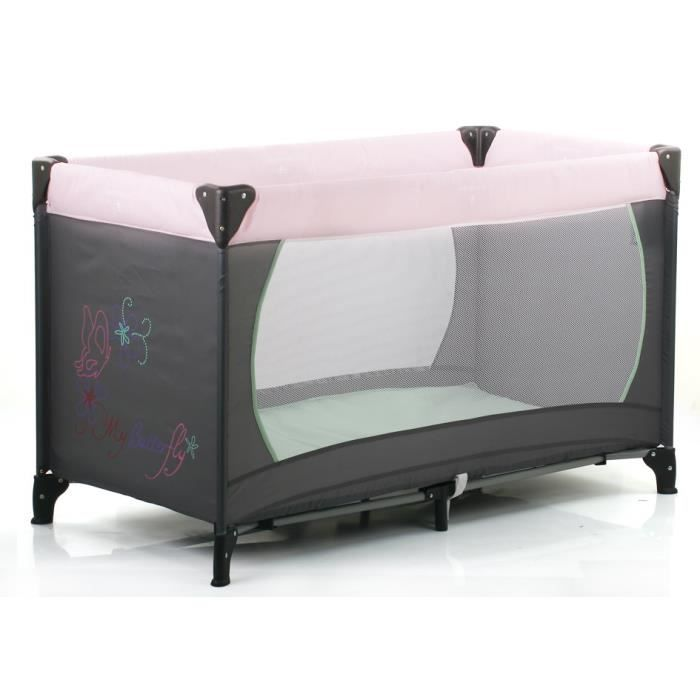 achat lit parapluie rose et gris carrefour. Black Bedroom Furniture Sets. Home Design Ideas