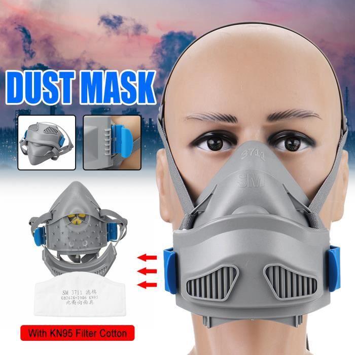 Peinture Aérosol//Poussière Masque Demi visage Respirateur+Filtres