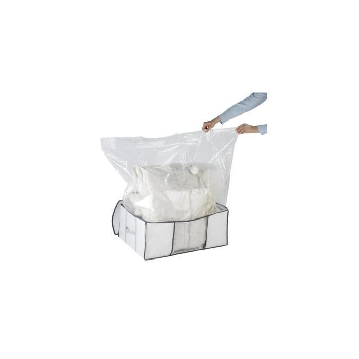 Neuf T 15 Boîte de rangement sous vide gain d/'espace Sacs Large VACUM SAC