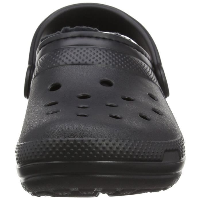chaussons classic lined clog h homme crocs classic lined clog h