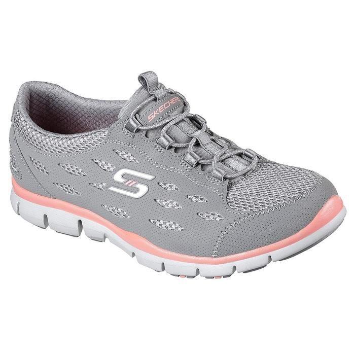 SKECHERS Women's Gratis-breezy City Sneaker UQR8P Taille-36 1-2