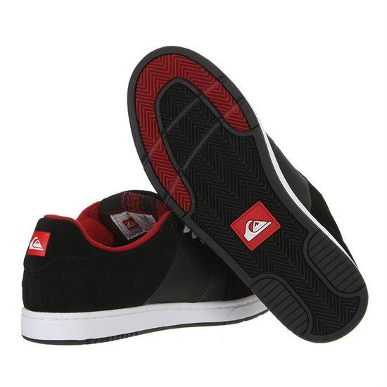 QUIKSILVER Skate shoes Badge Homme homme Noir, blanc et