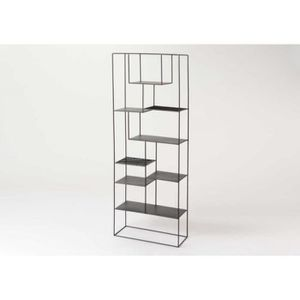 etagere murale design metal achat vente etagere murale design metal pas cher cdiscount. Black Bedroom Furniture Sets. Home Design Ideas