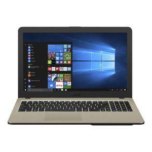 ORDINATEUR PORTABLE ASUS VivoBook 15 X540UA-GQ957T Core i3 7020U - 2.3