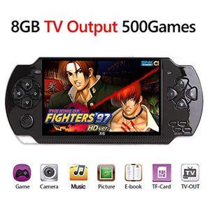 JEU CONSOLE RÉTRO Mecanique Q6W6R Console de jeu portable rétro x6 p