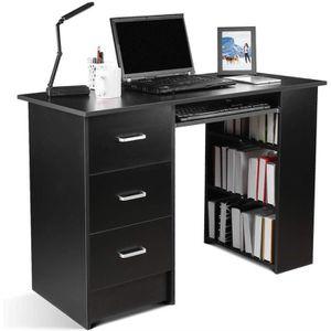MEUBLE INFORMATIQUE Bureau d'ordinateur Table PC Table de Travail avec