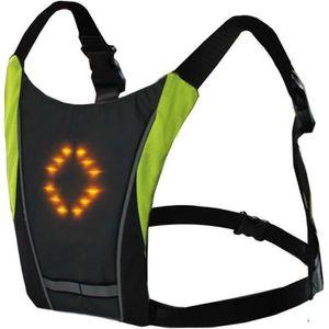 Clignotant Visible DEL Sac À Dos Clip-On Light Up Pour Cyclistes Jogging randonneurs Sport