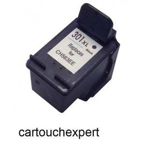 CARTOUCHE IMPRIMANTE HP cartouche n° 301 Noir x1 -cartouchexpert