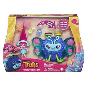 FIGURINE - PERSONNAGE Dreamworks – Les Trolls – Poppy's Wooferbug Beats