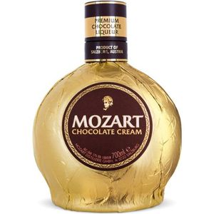 DIGESTIF EAU DE VIE Mozart Gold Chocolate Cream Liqueur 50cl