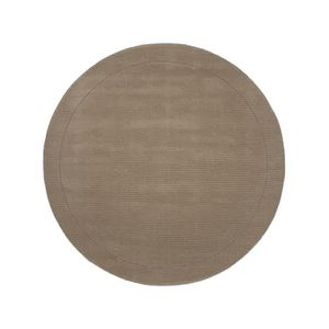 tapis rond taupe achat vente tapis rond taupe pas cher cdiscount. Black Bedroom Furniture Sets. Home Design Ideas