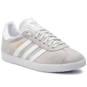 BASKET ADIDAS ORIGINALS Baskets Gazelle - Mixte - Gris cl